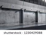 garage pit lane car background...
