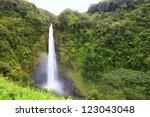 Waterfall   Akaka Falls Hawaii  ...