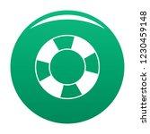 lifebuoy icon. simple... | Shutterstock .eps vector #1230459148