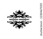 wedding ornament vector...   Shutterstock .eps vector #1230467035