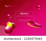 minimal cover banner template.... | Shutterstock .eps vector #1230475465