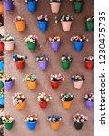 Yerevan  Armenia   Flower Pots ...
