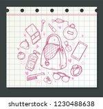 beauty collection vector | Shutterstock .eps vector #1230488638