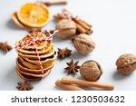 closeup view of winter... | Shutterstock . vector #1230503632