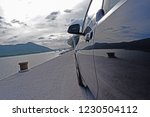 the close up of car door and... | Shutterstock . vector #1230504112