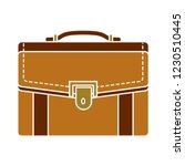 business briefcase isolated... | Shutterstock .eps vector #1230510445