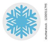 christmas winter snowflake icon ...   Shutterstock .eps vector #1230511795