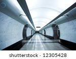 Modern Subway Station...