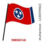 tennessee  u.s. state  flag... | Shutterstock .eps vector #1230559822