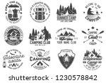 summer camp. vector. concept... | Shutterstock .eps vector #1230578842