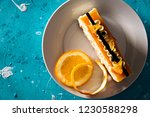 close up of a refreshing white... | Shutterstock . vector #1230588298