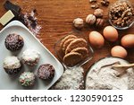 delicious dainty and healthy... | Shutterstock . vector #1230590125