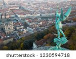 statue of saint michel and the... | Shutterstock . vector #1230594718