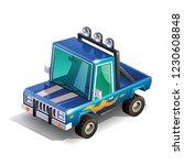 Isometric Monster Truck...