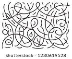 pattern strokes ellipse hand...