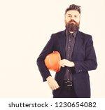 team leader or construction... | Shutterstock . vector #1230654082
