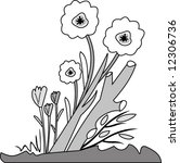floral design   Shutterstock .eps vector #12306736