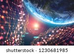 planet earth in the era of...   Shutterstock . vector #1230681985