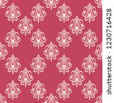 seamless decorative vector... | Shutterstock .eps vector #1230716428