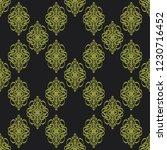 seamless decorative vector... | Shutterstock .eps vector #1230716452