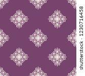 seamless decorative vector... | Shutterstock .eps vector #1230716458