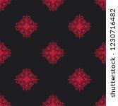 seamless decorative vector... | Shutterstock .eps vector #1230716482