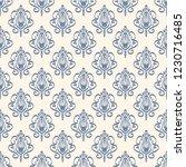 seamless decorative vector... | Shutterstock .eps vector #1230716485