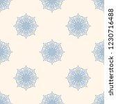 seamless decorative vector... | Shutterstock .eps vector #1230716488