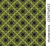 seamless decorative vector... | Shutterstock .eps vector #1230716512