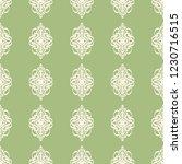 seamless decorative vector... | Shutterstock .eps vector #1230716515