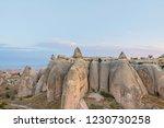 chimney rock formation... | Shutterstock . vector #1230730258