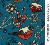 christmas seamless pattern ...   Shutterstock .eps vector #1230781798