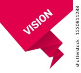 vision sign label. vision... | Shutterstock .eps vector #1230811288