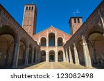 Basilica of Sant Ambrogio in Milan, Italy