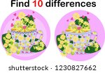 find differences teacup for... | Shutterstock .eps vector #1230827662