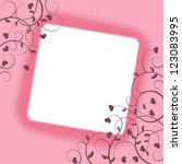 valentine background with space ...   Shutterstock .eps vector #123083995