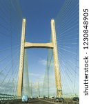 second severn crossing  wales   ... | Shutterstock . vector #1230848905