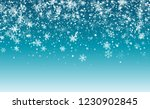 christmas snow flakes... | Shutterstock .eps vector #1230902845