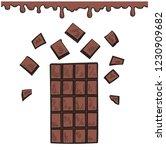 vector illustration of a... | Shutterstock .eps vector #1230909682