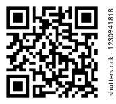 qr code icon   vector | Shutterstock .eps vector #1230941818