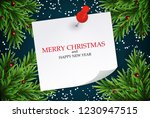 abstract holiday new year and... | Shutterstock .eps vector #1230947515