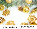 christmas background. happy new ... | Shutterstock . vector #1230960058