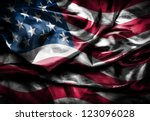 dark usa flag | Shutterstock . vector #123096028