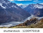 dhankar monastry perched on a... | Shutterstock . vector #1230970318