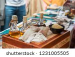 box with medieval medicines ... | Shutterstock . vector #1231005505