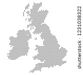 point   dotted united kingdom   ... | Shutterstock .eps vector #1231038322