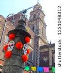 mexico  mexico city  presbytery ... | Shutterstock . vector #1231048312