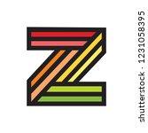 z line art logo