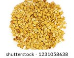 small crackers heap on white | Shutterstock . vector #1231058638
