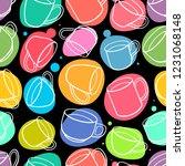 seamless background of... | Shutterstock .eps vector #1231068148
